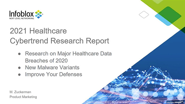 The 2021 Healthcare Cybertrend Research Report