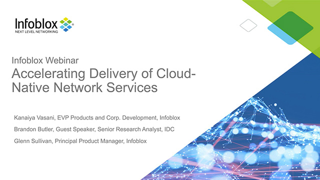 Accelerating Delivery Of Cloud-Native Network Services
