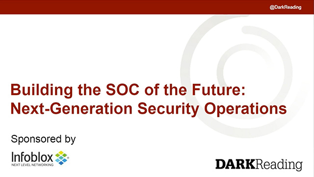 Building The SOC Of The Future: Next-Generation Security Operations