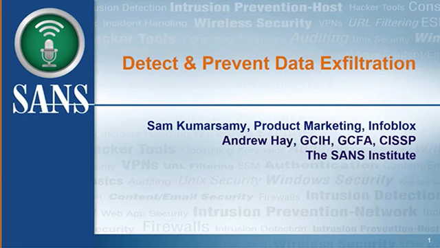 How To Detect And Prevent Data Exfiltration