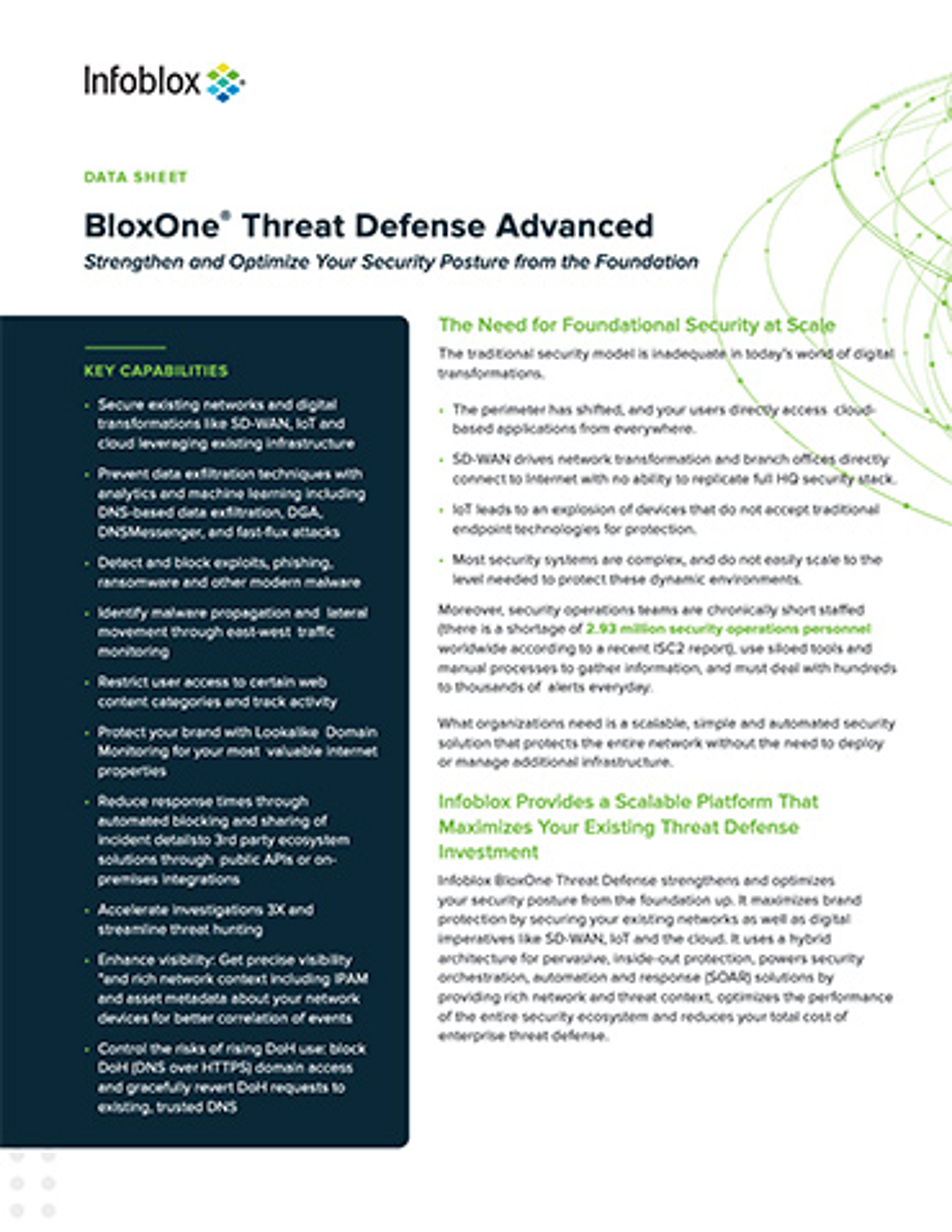 BloxOne®️ Threat Defense Advanced