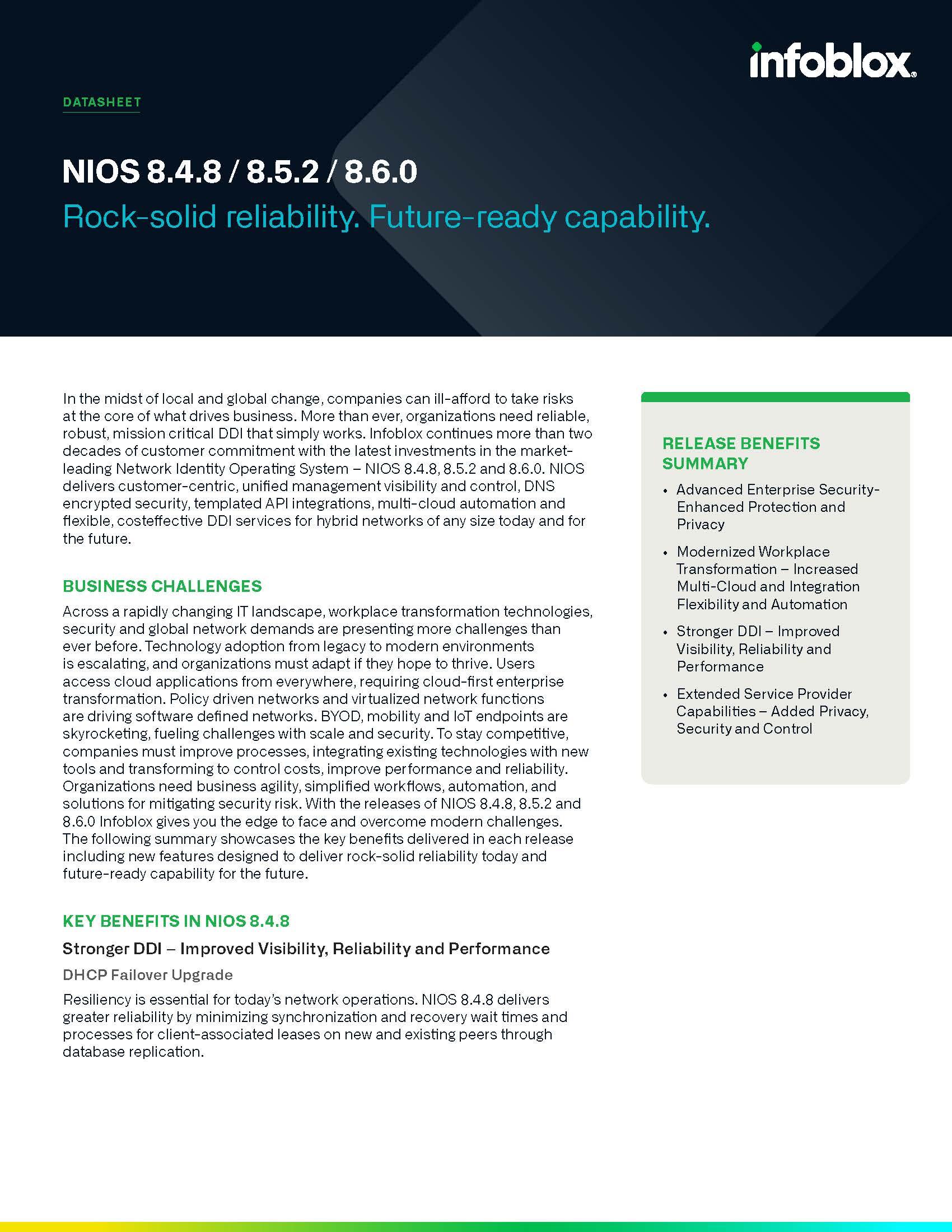 NIOS 8.x
