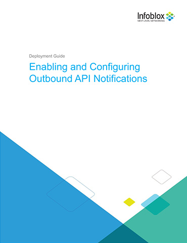 Enabling And Configuring Outbound API Notifications