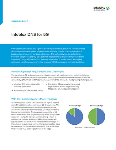 Infoblox DNS For 5G