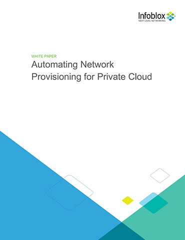 Automating Network Provisioning For Private Cloud