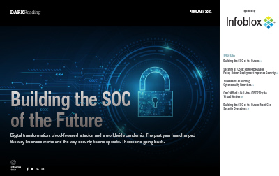 Dark Reading Report: Building The SOC Of The Future