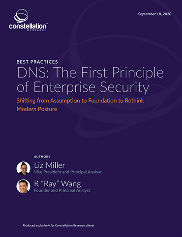 DNS: The First Principle Of Enterprise Security